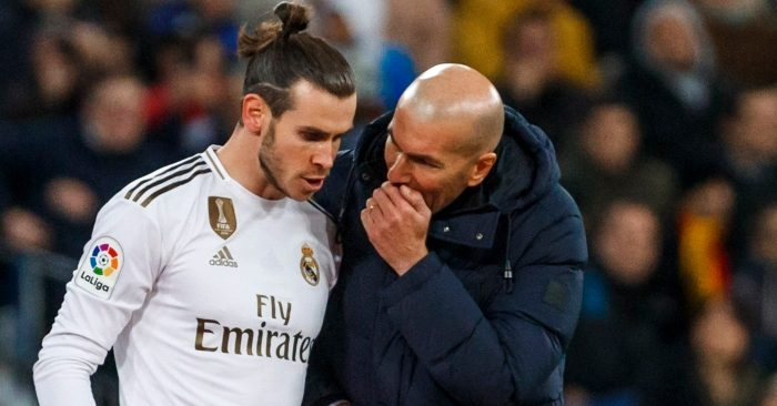 Gareth Bale Zidane Tottenham Real Madrid