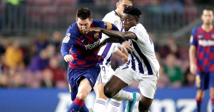 Mohammed Salisu Valladolid Barcelona Lionel Messi
