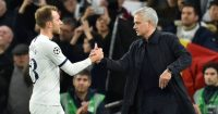 Jose Mourinho Christian Eriksen Tottenham