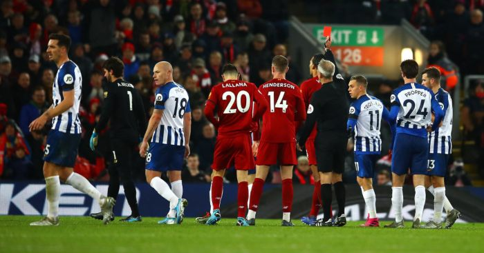 Liverpool Brighton Alisson