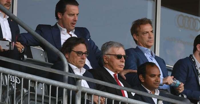 Raul Sanllehi Stan Kroenke Arsenal