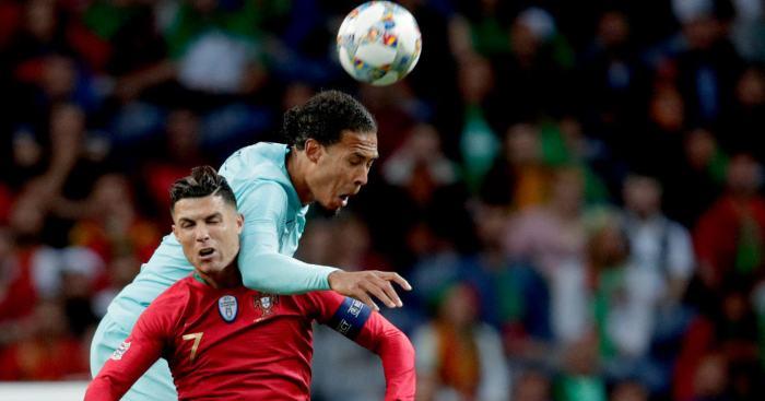 Virgil van Dijk Cristiano RonaldoVirgil van Dijk Cristiano Ronaldo