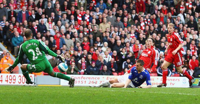 Tim Howard Liverpool Everton