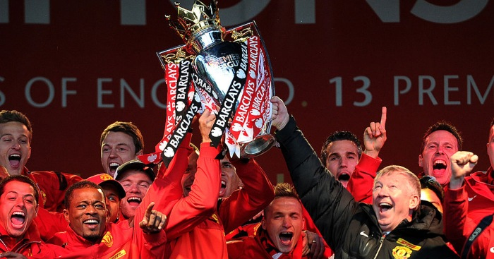 Manchester United Premier League title 2013