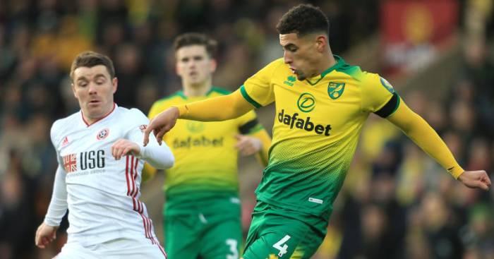 Ben Godfrey Norwich Man Utd