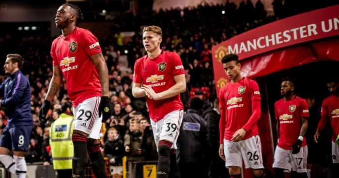Aaron Wan-Bissaka Manchester United