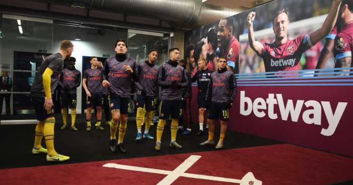 Arsenal West Ham