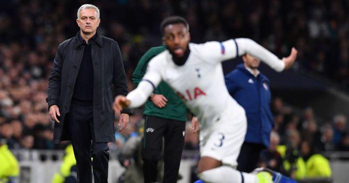 Jose Mourinho Danny Rose Tottenham