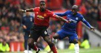 Paul Pogba N'Golo Kante Manchester United Chelsea