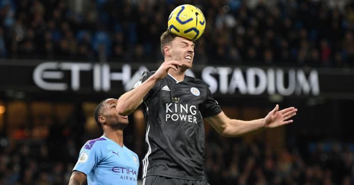 Jonny Evans Leicester City