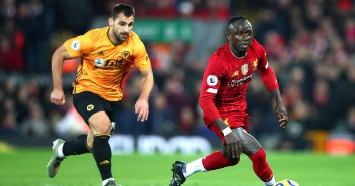 Jonny Sadio Mane Liverpool Wolves