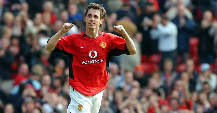 Gary Neville Manchester United Liverpool