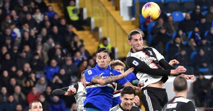 Adrien Rabiot Juventus Man Utd