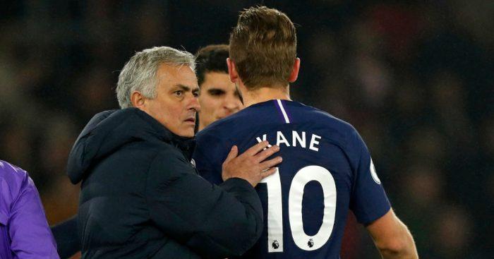 Jose Mourinho Harry Kane Tottenham