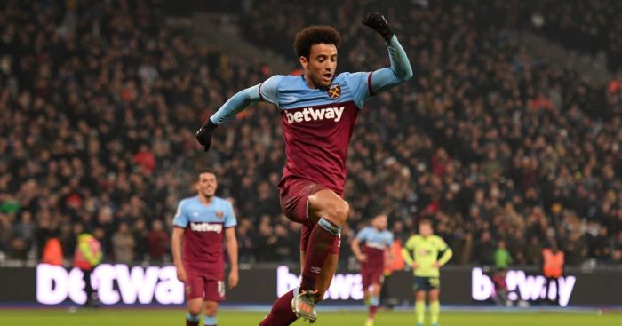 Arsenal Felipe Anderson West Ham