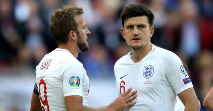 Harry Kane Harry Maguire England