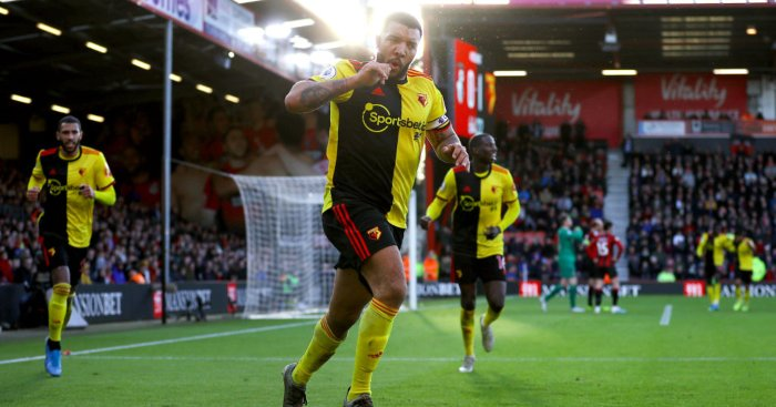 Troy Deeney Bournemouth Watford