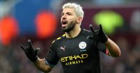 Sergio Aguero Manchester City Aston Villa