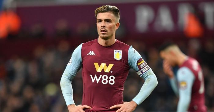 Jack Grealish Aston Villa Man Utd