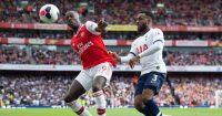 Nicolas Pepe Danny Rose Arsenal Tottenham