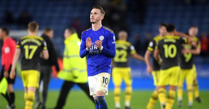 James Maddison Leicester City