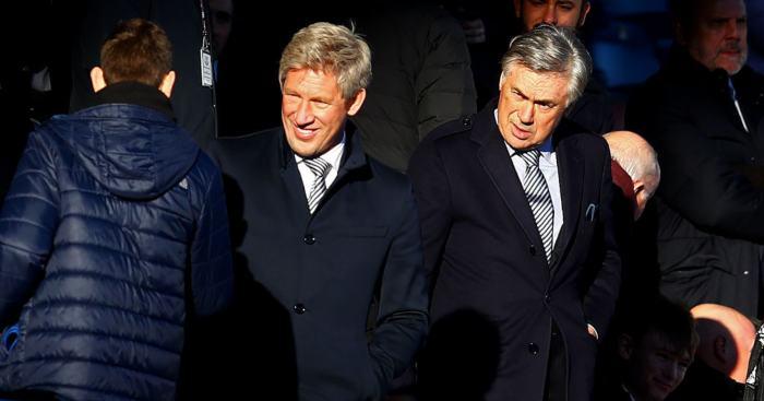 Marcel Brands Carlo Ancelotti Everton