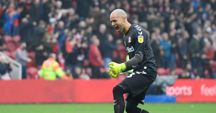 Darren Randolph Middlesbrough