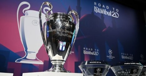 Champions League Man City