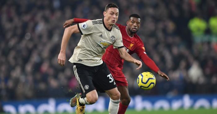 Nemanja Matic Manchester United Liverpool