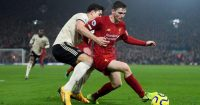 Andy Robertson Liverpool Manchester United