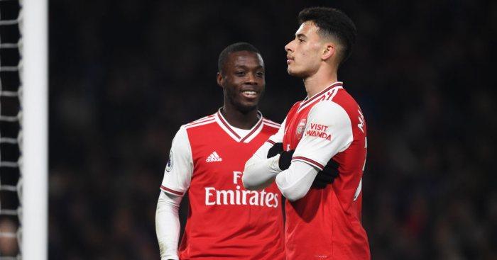 Gabriel Martinelli Nicolas Pepe Arsenal