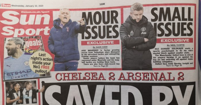 Mediawatch: Fixing The Sun, transfer latest live and more... - Football365