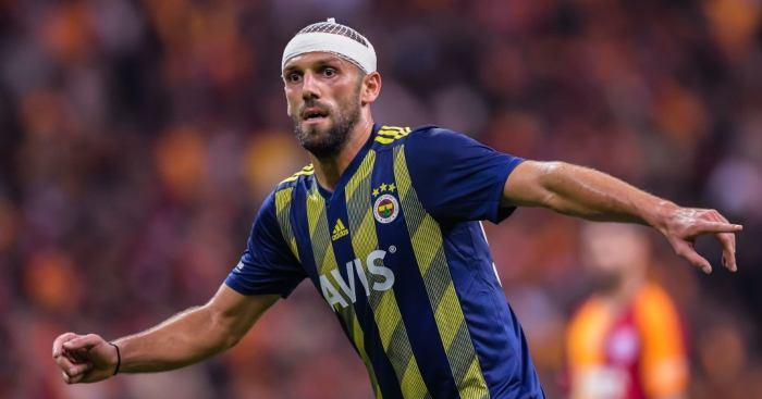 Fenerbahce striker VedatMuriqi Spurs