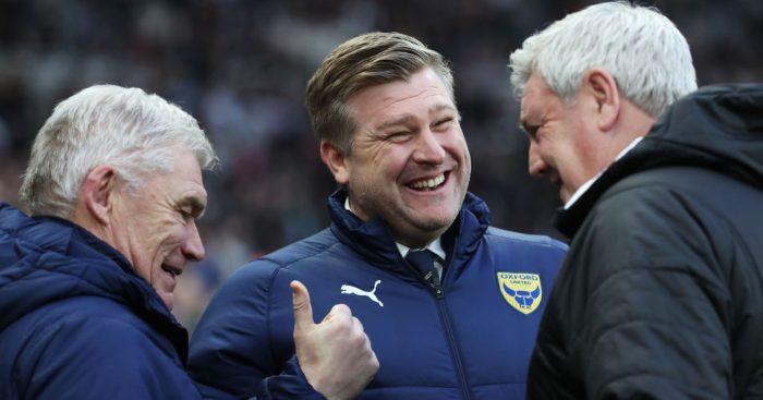 Karl Robinson Oxford United Steve Bruce