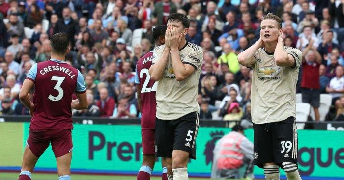 Harry Maguire Scott McTominay Manchester United West Ham
