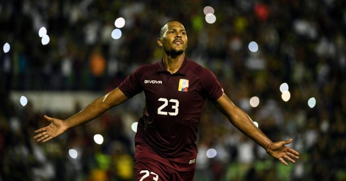 Salomon Rondon Venezuela