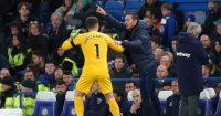 Kepa Arrizabalaga Frank Lampard Chelsea