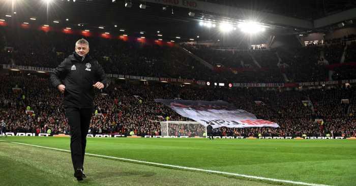 Ole Gunnar Solskjaer Manchester United Old Trafford