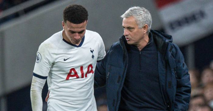 Mourinho insists (thrice) that Dele remains 'professional' for Spurs thumbnail