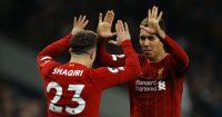 Roberto Firmino Liverpool Xherdan Shaqiri
