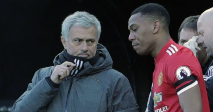 Jose Mourinho Anthony Martial Manchester United