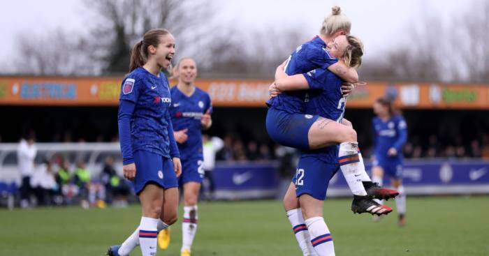 Chelsea West Ham Women's Super League