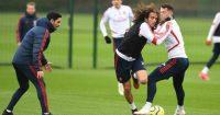 Mikel Arteta Matteo Guendouzi Arsenal