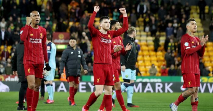 Fabinho Andy Robertson Liverpool