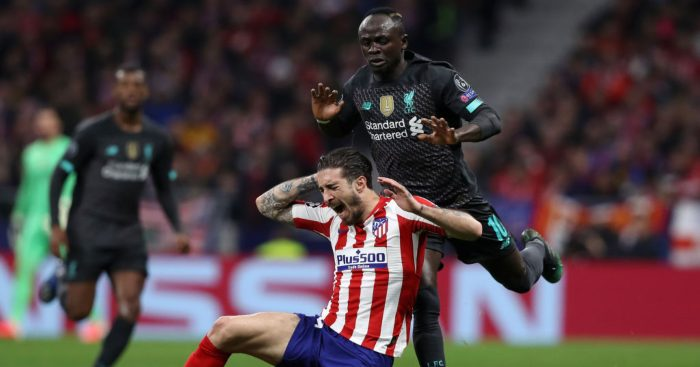 Sadio Mane Liverpool Atletico Madrid