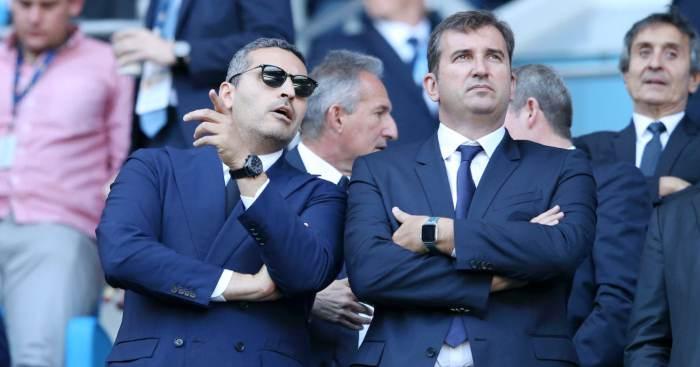 Khaldoon Al Mubarak Ferran Soriano Manchester City