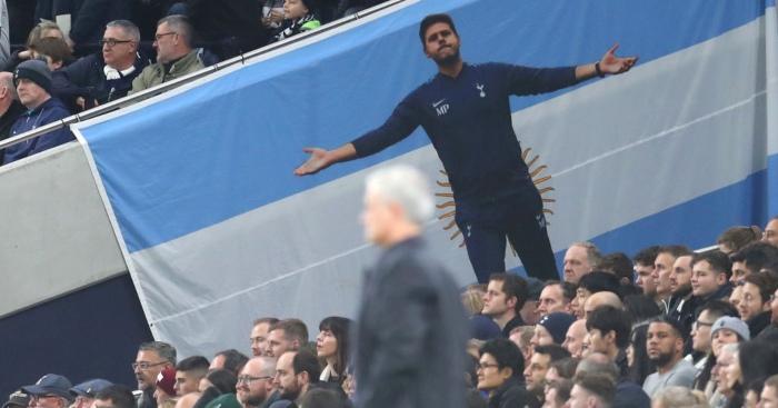 Jose Mourinho Mauricio Pochettino Totenham