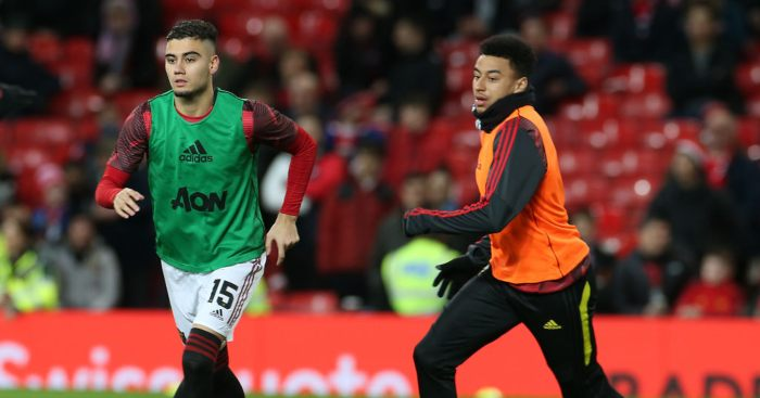 Andreas Pereira Jesse Lingard Manchester United