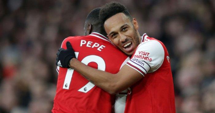 Pierre-Emerick Aubameyang Nicolas Pepe Arsenal