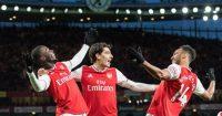 Arsenal Nicolas Pepe Hector Bellerin Pierre-Emerick Aubameyang